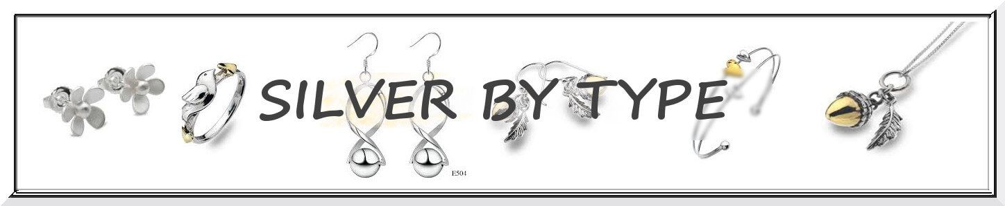 Sterling Silver Jewellery, By Type