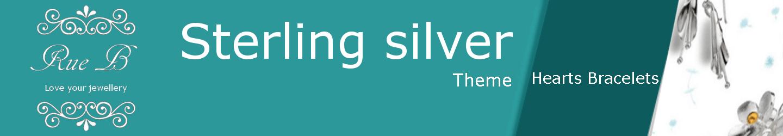 Heart Bracelets - Sterling Silver