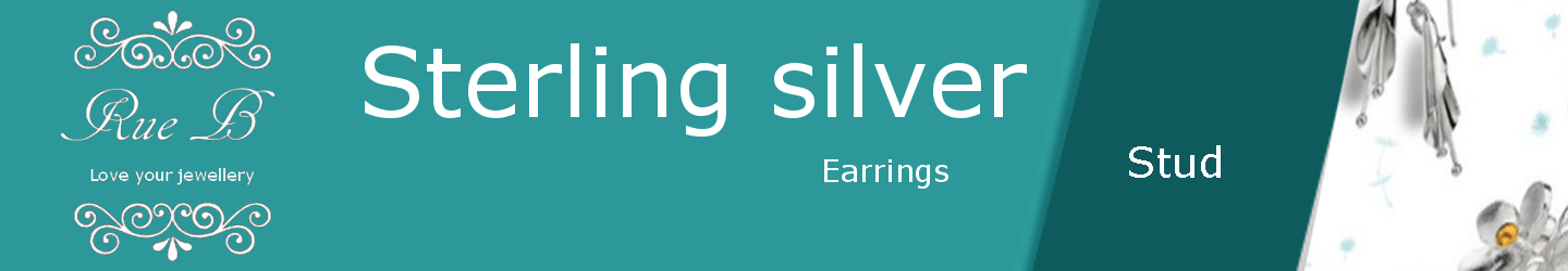 Stud Earrings - Sterling Silver