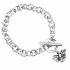 Danon jewellery,  A new item from Danon bracelet: this DANON JEWELLERY SILVER BUMBLE BEE BRACELET WITH CRYSTAL