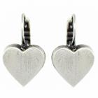 Danon Jewellery: Statement Chunky Loveheart Earrings