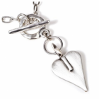 Danon Jewellery: Bestselling Silver Necklace with Signature Heart Pendant