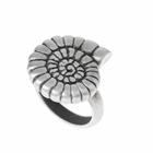 SALE Danon Jewellery:  Pewter Ring with Large Ammonite Design