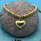SALE Fashion Jewellery: Adjustable Thong Style Charm Bracelet (S69)