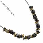 Multi Tone Bead Necklace fashion jewellery york