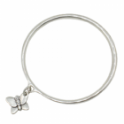 * Danon Jewellery: Bangle with Swarovski Detailed Butterfly Charm