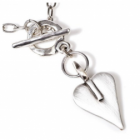 * Danon Jewellery: Bestselling Silver Necklace with Signature Heart Pendant