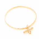 * NEW DANON JEWELLERY GOLD BEE BANGLE