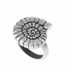SALE Danon Jewellery:  Pewter Ring with Large Ammonite Design (DS7)