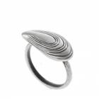 SALE Danon Jewellery:  Quirky Pewter Ring with Large Mussel Design (DS16)