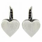 * Danon Jewellery: Statement Chunky Loveheart Earrings (30mm x 30mm design)