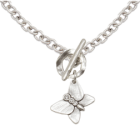 SALE Danon Jewellery: Beautiful Chain Necklace with Butterfly Pendant and Swarovski Crystal Detail (DS79)