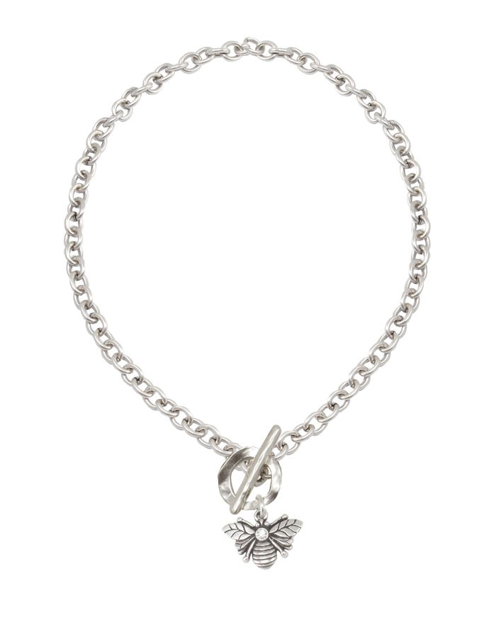 https://www.rueb.co danon bumble bee silver necklace