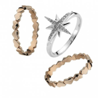 sterling silver and fashion jewellery rings