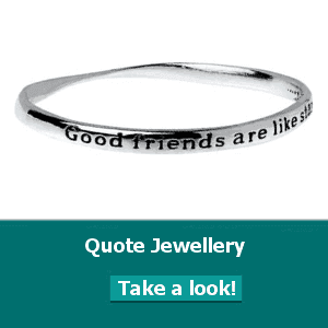 sterling silver quote jewellery fashion jewellery quote bangles and danon