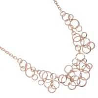 sterling silver and fashion jewellery necklace
