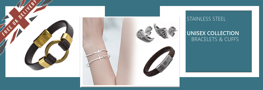 STEEL Bracelets and Cuffs