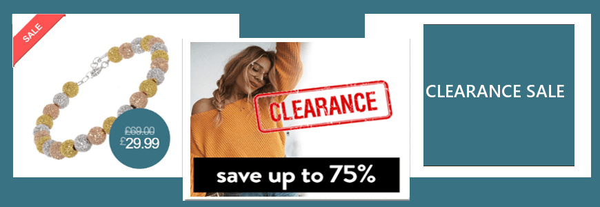 Sterling Silver Jewellery Clearance