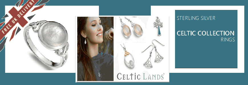 Celtic Rings - Sterling Silver