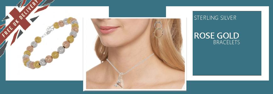 Rose Gold Bracelets and Bangles