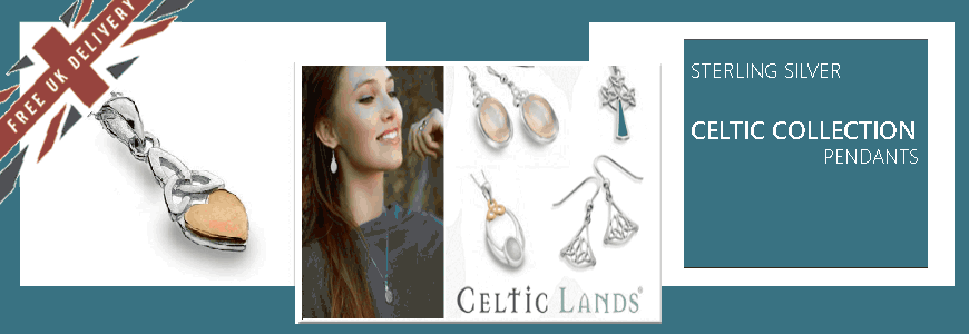 Cetic Pendants - Sterling Silver