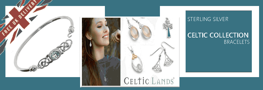 Celtic Bracelets  - Sterling Silver