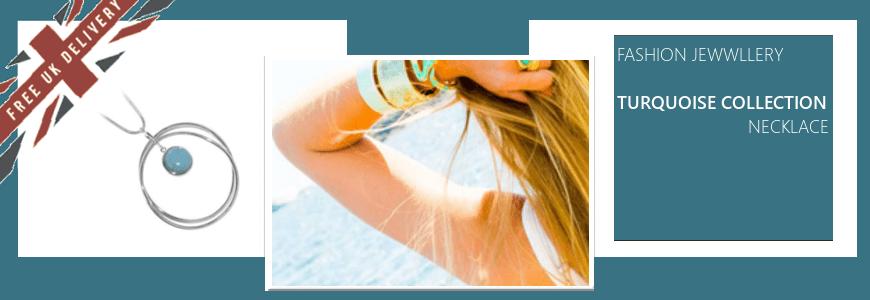 Turquoise Tone Necklaces
