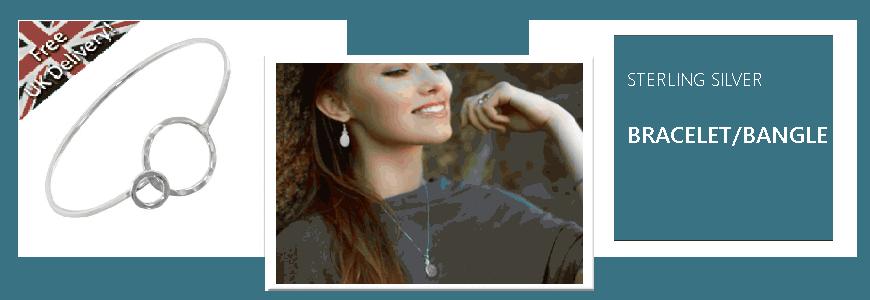 Bracelets, Bangles - Sterling Silver