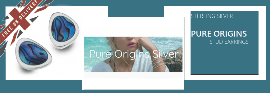 Pure Origins: Stud Earrings