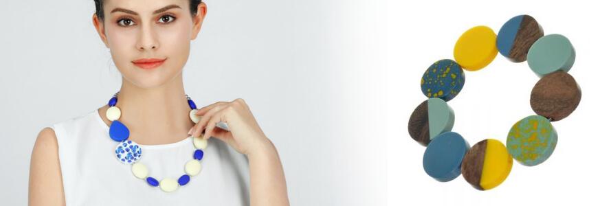 Rubber/Acrylic Bracelets