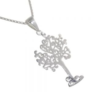 Sterling Silver Fairytale Tree Pendant