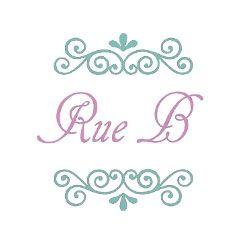 Alba multi-tone Blue Resin Double Link drop Earrings (BM8)y