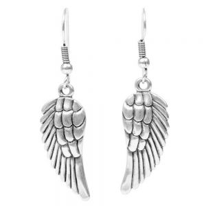 Danon Pewter Angel Wing Earrings UK