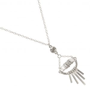 Rock crystal Boho necklace in Gold from RueB york one of a huge range of fashion jewellery necklaces all free delivery