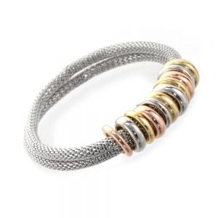 Multi Tone Bead Bracelet