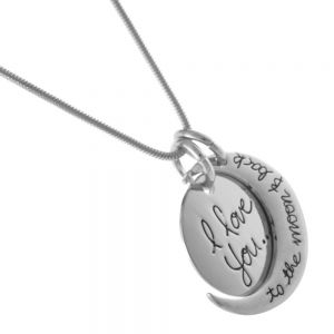 Quote jewellery: Silver Quote Pendant