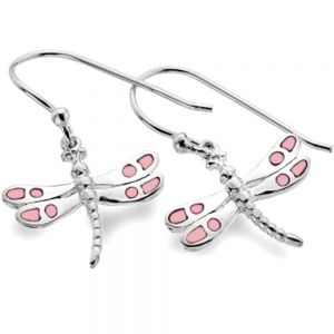 Sterling Silver Dragonflies with Mother of Pearl