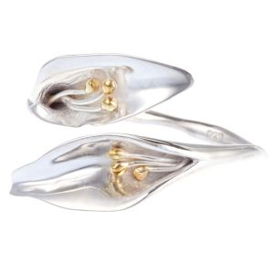 Sterling Silver Lily Ring