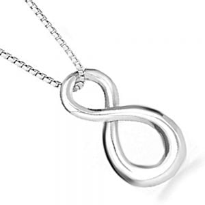 Sterling Silver Infinity Design Pendant