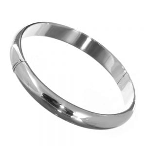 Classic Sterling Silver Jewellery: Simple Chunky Bangle