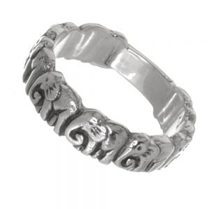 Quirky Sterling Silver Jewellery: Elephant Design Ring
