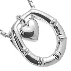 NEW Sterling Silver Jewellery: Sweet Heart and Horseshoe Pendant