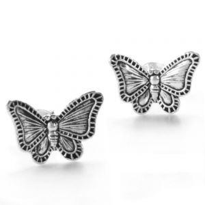 Sterling Silver Children's Butterfly Studs