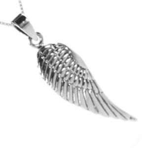 sterling Silver Bird Wing Pendant angel wing