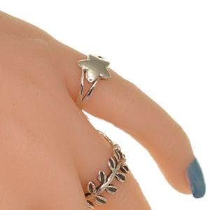 Sterling Silver Jewellery: Beautiful Star Ring (SR44)