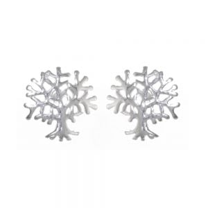 Sterling Silver Jewellery: Small Tree of Life Stud Earrings