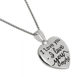 Affirmations Sterling Silver Jewellery: