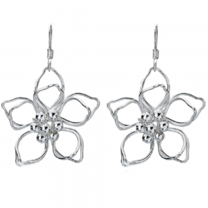 Sterling Silver Outline Flower jewellers in york silver