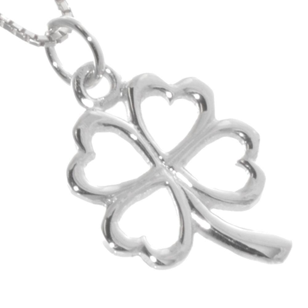 3da784c7a 925 sterling silver jewellery york fashion jewellery Sterling Silver  Jewellery: Lucky Four Leaf Clover Pendant 925 Sterling silver jewellery  range of ...