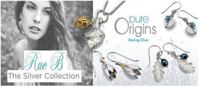 Update Your Collection with Beautiful Sterling Silver Jewellery from Rue B